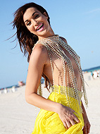 Hot Jonelle enjoy on the beach galleries.